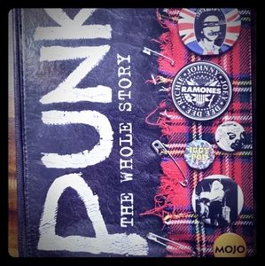 Punk: The Whole Story - Hardcover Book